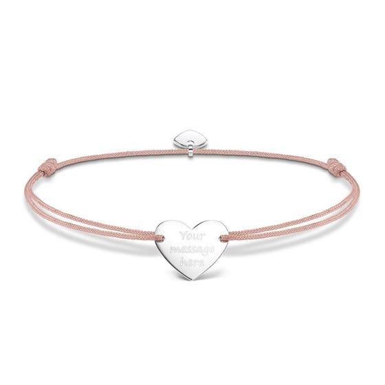Little Secrets Heart Engravable Bracelet