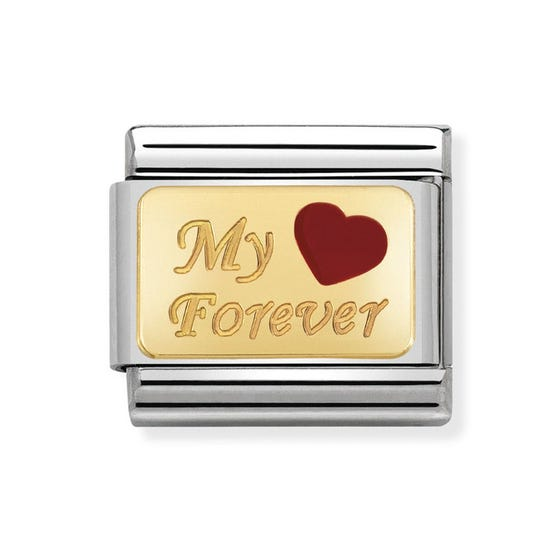Classic Gold My Forever Charm