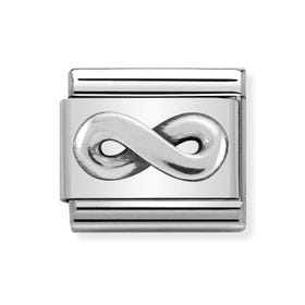 Classic Silver Infinity Charm