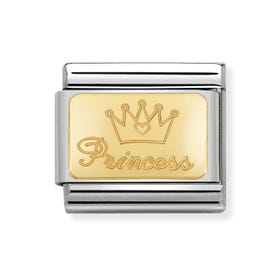 Classic Gold Princess Charm