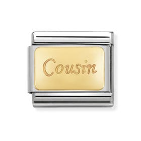 Classic Gold Cousin Charm