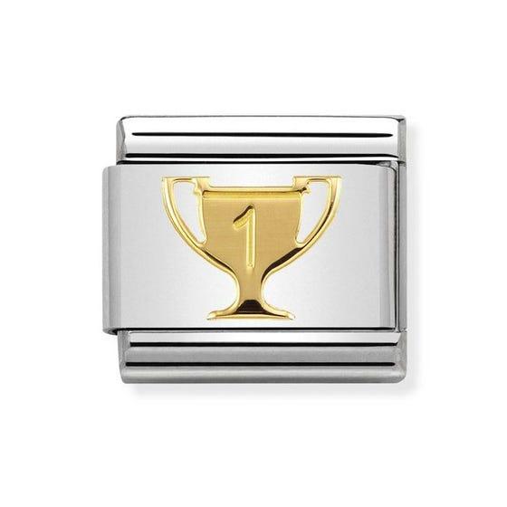 Classic Gold Winner's Trophy Charm
