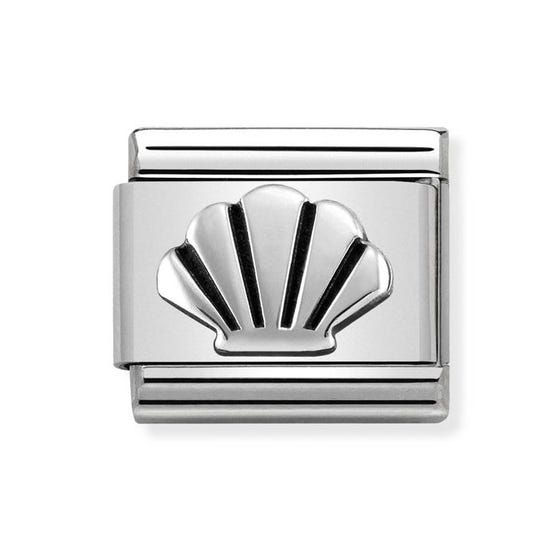 Classic Silver Shell Charm