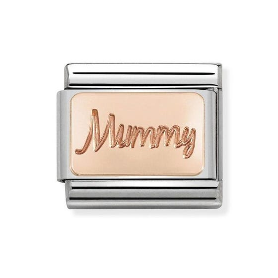 Classic Rose Gold Mummy Charm