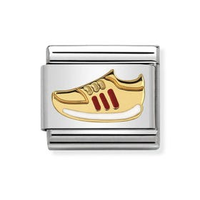 Classic Gold Trainer Charm