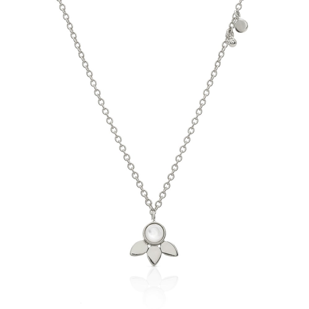 John Greed Sophia Silver Mother of Pearl Necklace