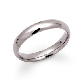 Titanium 4mm Ring