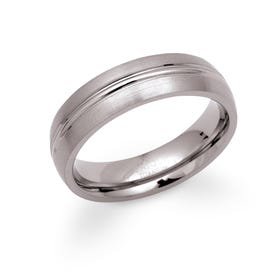 Titanium 6mm Ring