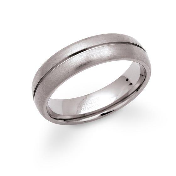 Titanium 6mm Ring TR-2