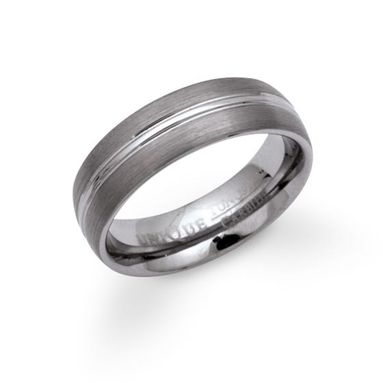 Tungsten 7mm Ring