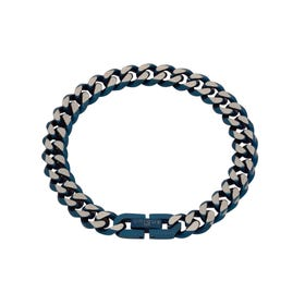 Stainless Steel Blue Plated Bracelet