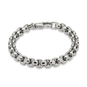 Stainless Steel Heavy Weight Belcher Bracelet