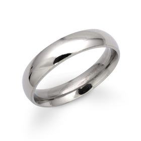 Steel Polished Ring 5mm