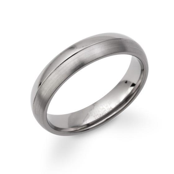 Titanium 5mm Ring
