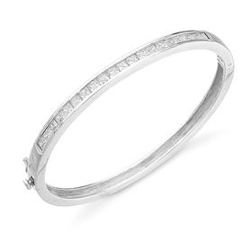 Hera Channel Set Bangle