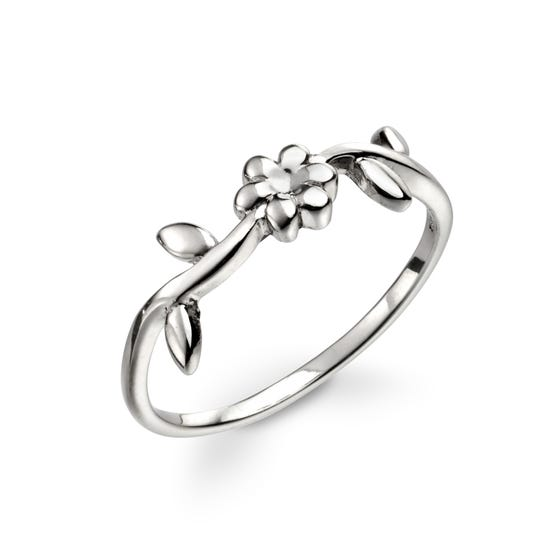 Meadow Silver Flower Ring