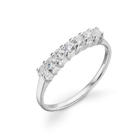 Luna Stone Eternity Ring