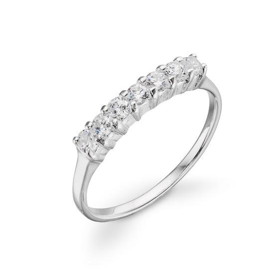 Luna Stone Eternity Ring