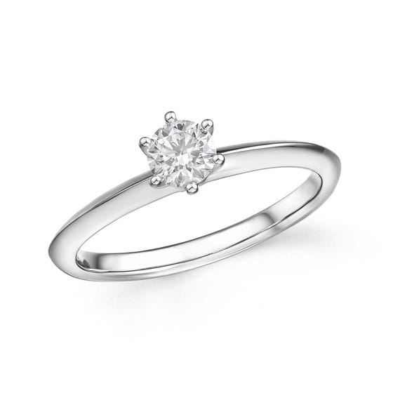 18ct White Gold 0.31ct Diamond Ring