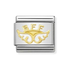 Classic Gold Angel of Friendship Charm