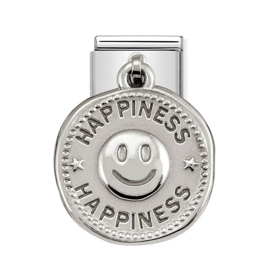 Classic Silver Happiness Charm