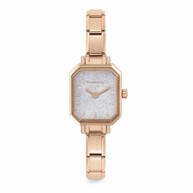 Classic Paris Rose Gold Plated Glitter Watch