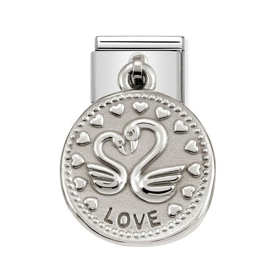 Classic Silver Love Charm