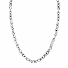 Bond Crushed Chain Engravable Steel Necklace