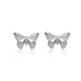 Origami Safari Flutter-by Stud Earrings