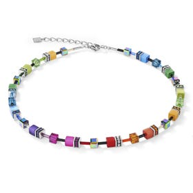 Classic GEOCUBE Necklace Iconic Rainbow