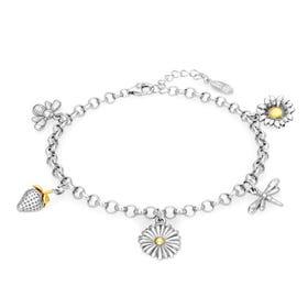 Serre Silver Summer Garden Bracelet