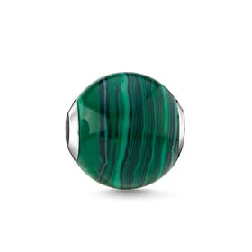 Green Malachite Karma Bead