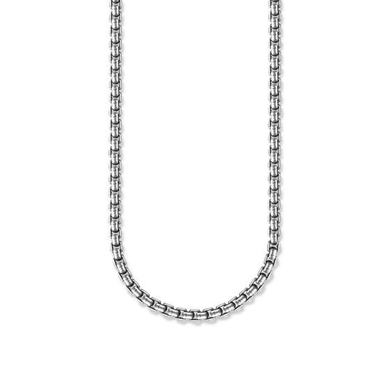 Rebel Silver Chain Necklace