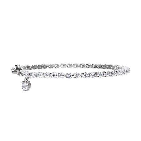 Silver Zirconia Tennis Bracelet