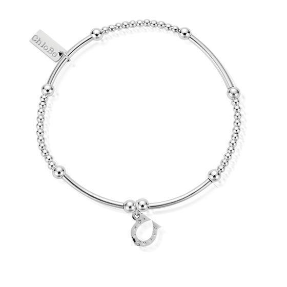 Silver Cute Mini Horseshoe Bracelet