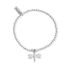 Silver Cute Charm Dragonfly Bracelet