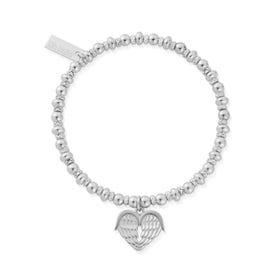 Silver Didi Sparkle Heavenly Heart Bracelet