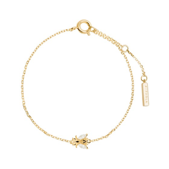 Gold Plated Buzz Bracelet