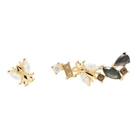 Gold Plated Revery Earrings