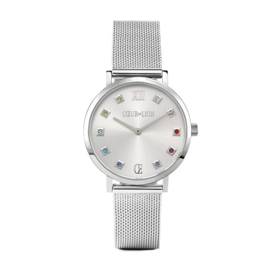 Stainless Steel Milanese Crystal Watch