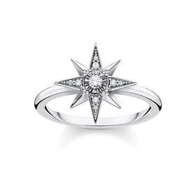 Silver Cosmic Star Ring