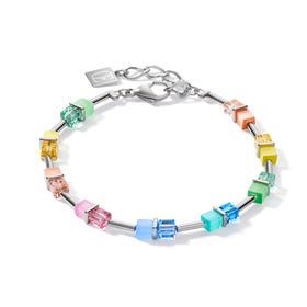 Graduated GEOCUBE Bracelet Fresh Rainbow