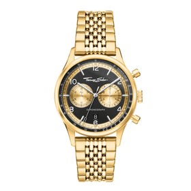 Rebel Gold Vintage Chronograph Men's Watch