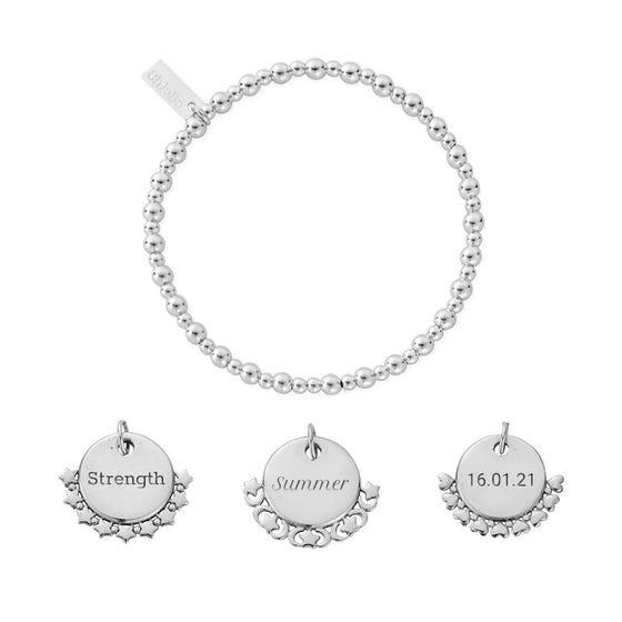Silver Personalised Didi Bracelet