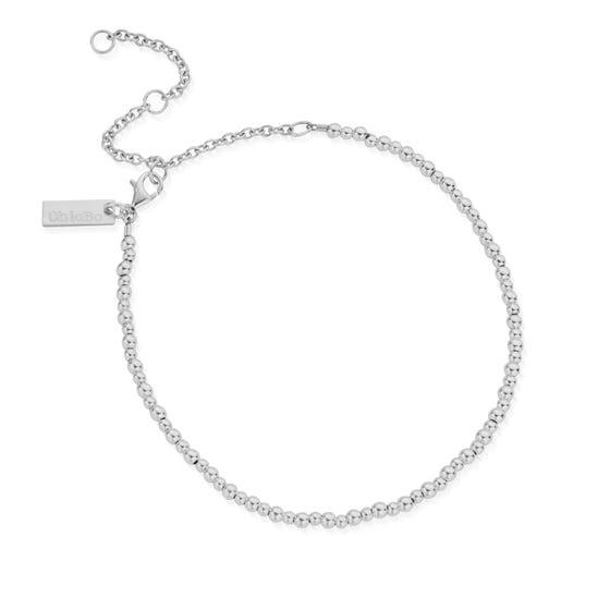Silver Mini Cute Anklet