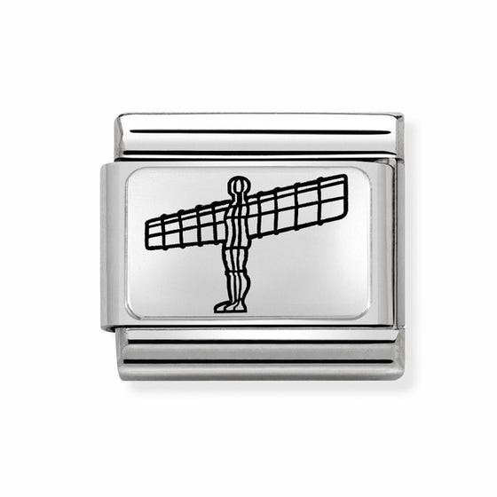 Classic Silver Angel of the North Charm