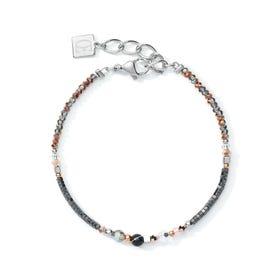Elegance Bracelet Rose Gold, Hematite, Onyx & Neutral Crystals