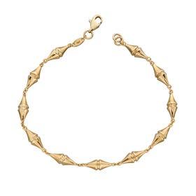 9ct Gold Kite Bracelet