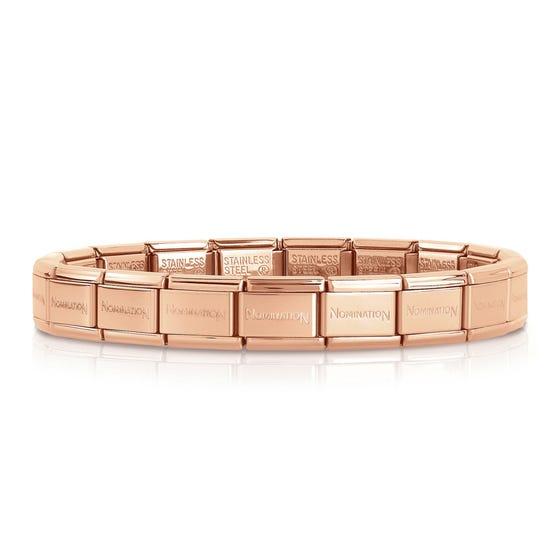 Classic Rose Gold Plated Starter Bracelet