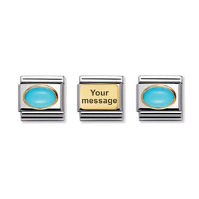 Twinkling Turquoise Charm Set